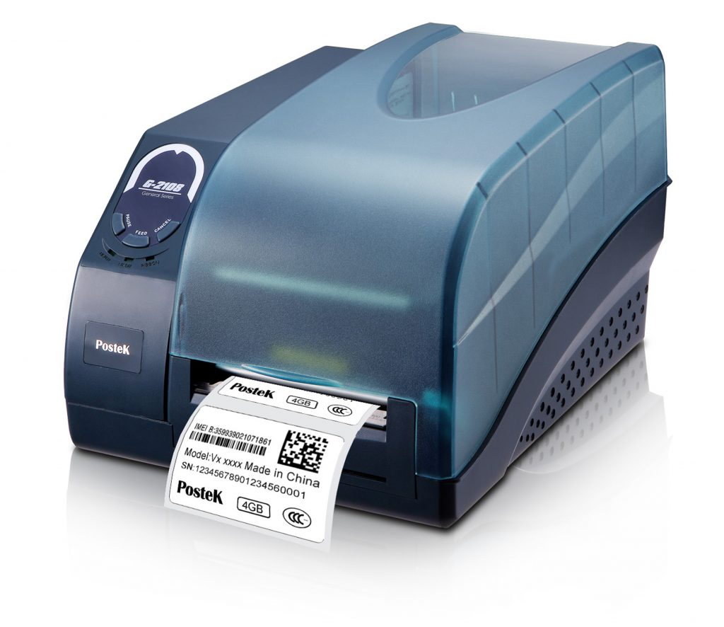 Postek G2108 Printer Barcode
